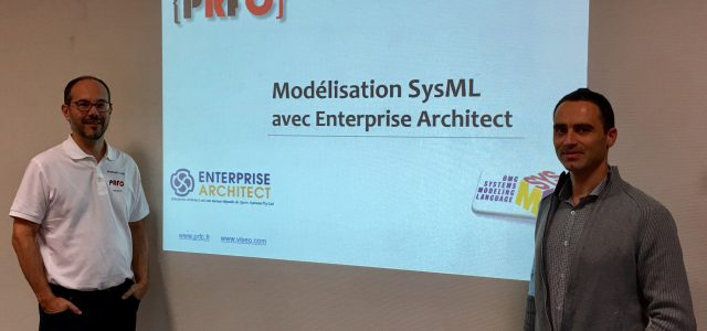 Formation SysML/EA avec Viseo à Grenoble