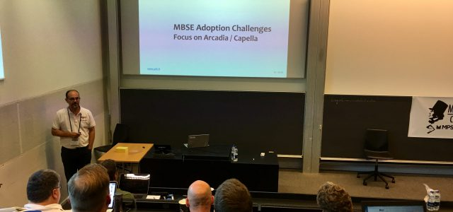 PRFC was at MODELS 2018 conference in Copenhagen