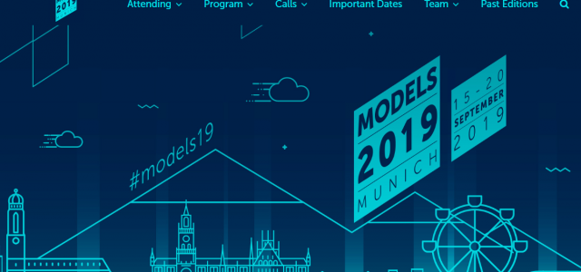 PRFC was at MODELS 2019 conference in Munich