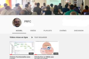 Lancement de la chaine YouTube PRFC sur le MBSE !
