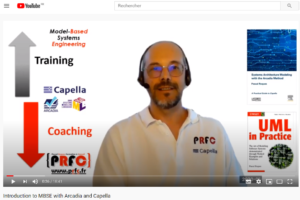 Launch of the PRFC YouTube channel on MBSE!